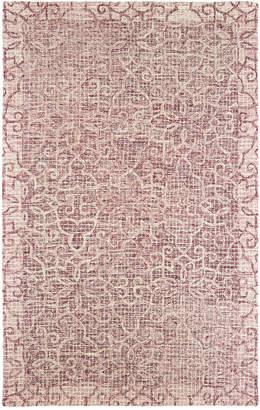 Oriental Weavers Tallavera 55601 Pink/Ivory 8' x 10' Area Rug