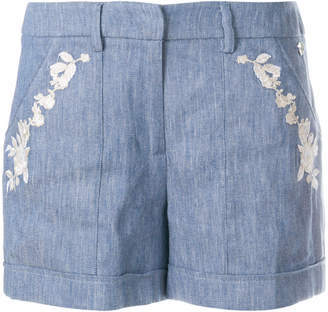 Twin-Set embroidered shorts
