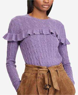 Polo Ralph Lauren Ruffled Sweater