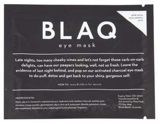 BLAQ Hydrogel Eye Mask