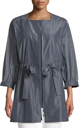 Lafayette 148 New York Stephania Empirical Tech Cloth Jacket