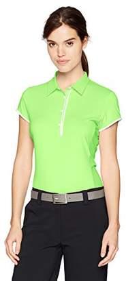 Cutter & Buck Women's Moisture Wicking UPF 50+ Cap Sleeve Competitor Polo Shirt