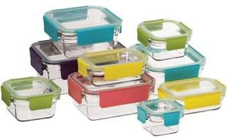 9 Piece Premium Tempered Glass Container Set