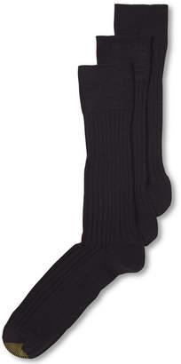 Gold Toe Adc Windsor Wool 3 Pack Dress Crew Men Socks