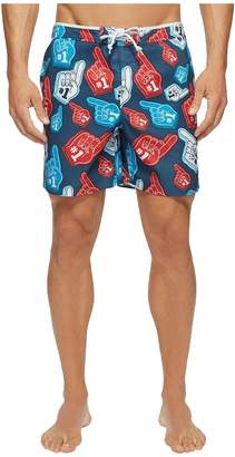 Original Penguin Stretch Foam Finger Men's Swimwear