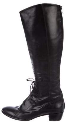 AGL Leather Over-The-Knee Boots