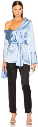Hellessy Clark Shirt in Sky Blue   FWRD