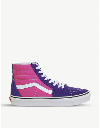 Vans Sk8-Hi canvas high-top trainers