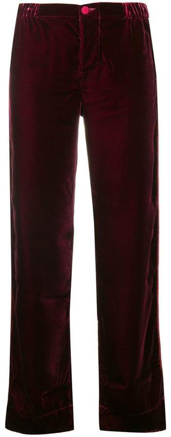 F.R.S For Restless Sleepers straight leg trousers