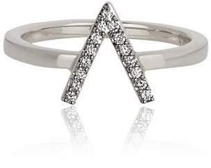 Alinka Jewellery Id Ring White Gold