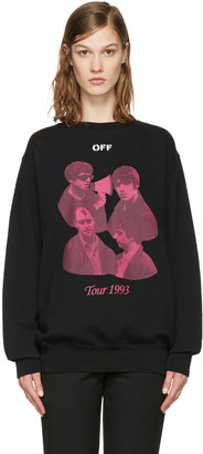 Off-White Black Tour 1993 Pullover $520 thestylecure.com