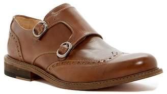 Bugatchi Rimini Leather Monk Strap Loafer