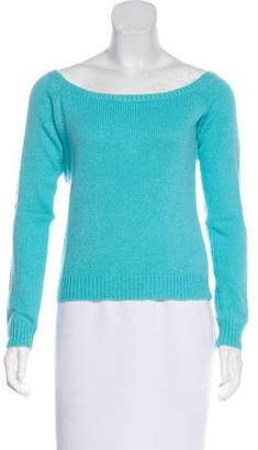 Ralph Lauren Black Label Metallic Cashmere Sweater