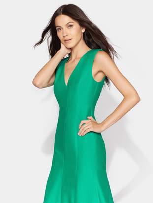 Halston Fitted Structure Gown