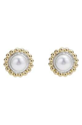 Lagos Stone Stud Earrings