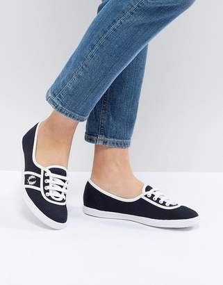 Fred Perry Aubrey Colour Block Plimsoll Sneakers