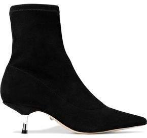 Schutz Maria Flor Suede Ankle Boots