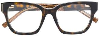 Marc Jacobs Eyewear tortoiseshell square glasses