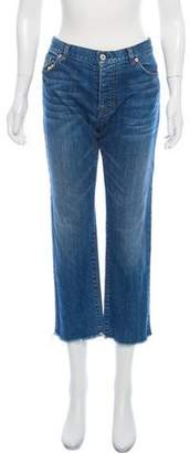 Nili Lotan Mid-Rise Boyfriend Jeans