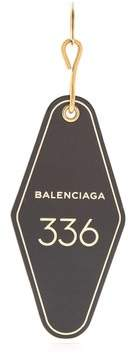 Balenciaga - Hotel Diamond Key Ring - Womens - Black