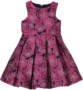 Pippa Pastourelle by & Julie Floral Brocade Fit & Flare Dress