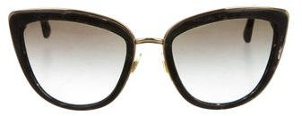 Dolce & Gabbana Dolce & Gabbana Marbled Cat-Eye Sunglasses