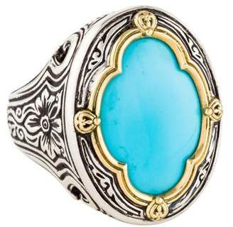 Konstantino Turquoise Cocktail Ring