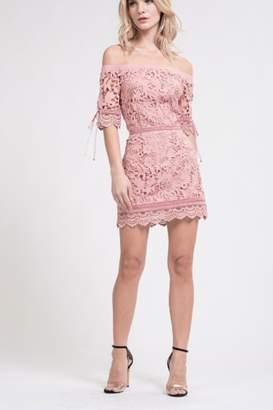 J.o.a. Rose Mini Dress