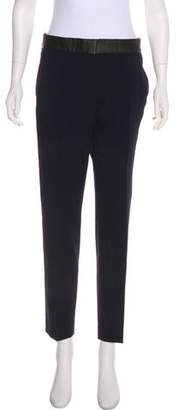 IRO Mid-Rise Straight-Leg Pants