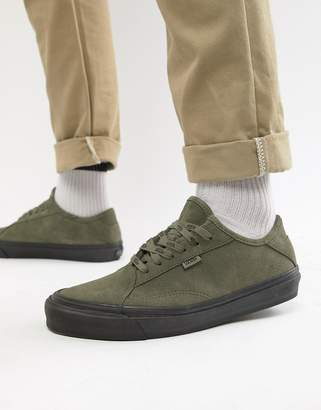Vans Diamo sneakers in khaki suede VN0A3TKDUMB1