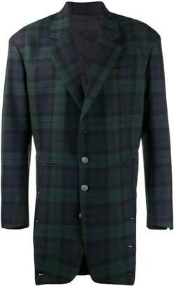 Diesel Red Tag check pattern jacket