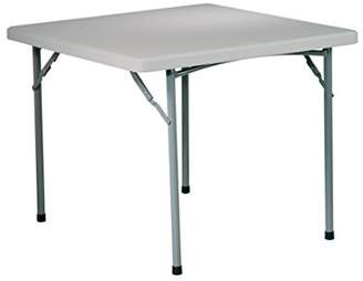 Office Star Resin Multipurpose Square Table