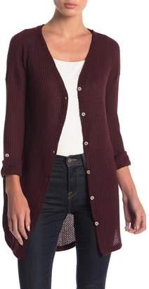 Anama Ribbed Knit Long Sleeve Top