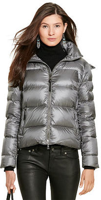 Polo Ralph Lauren Hooded Down Jacket $398 thestylecure.com