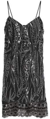 Anna Sui Embellished Tulle Mini Dress
