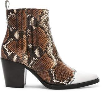 Ganni Western Mix Boots