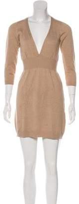 RED Valentino V-Neck Mini Dress