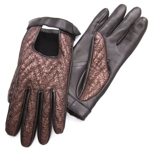 Rag and Bone Rag & bone Chevron Quilted Driving Gloves