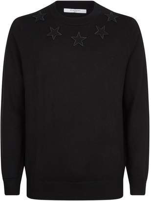 Givenchy Applique Star Sweater