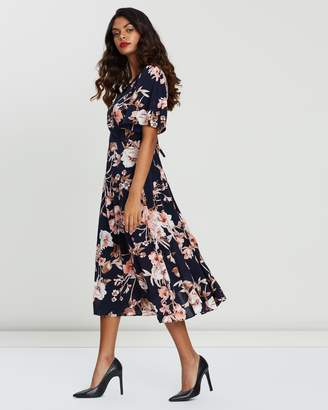 Forcast Winona Crossover Dress