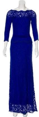Tadashi Shoji Lace Maxi Dress