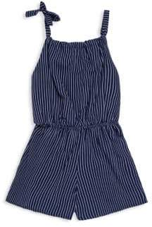 Pinc Premium Girl's Striped Print Romper