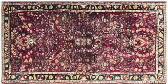 """One Kings Lane Vintage Persian Sarouk Rug - 2' x 4'1"""" - Eli Peer Oriental Rugs"""