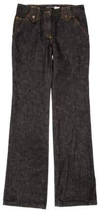 Dolce & Gabbana Mid-Rise Straight-Leg Jeans w/ Tags