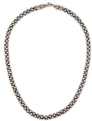 Lagos Caviar Collar Necklace