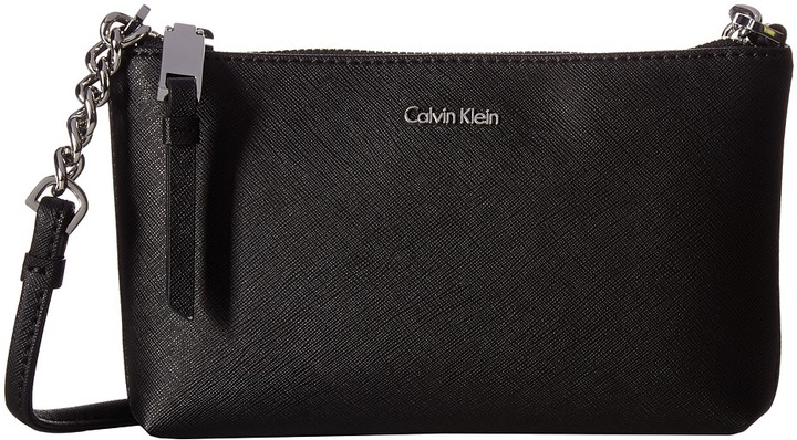 Calvin KleinCalvin Klein - Hayden Saffiano Key Item Crossbody Cross Body Handbags