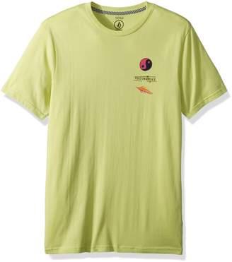 Volcom Men's Neon Levitate Short Sleeve Graphic Tee