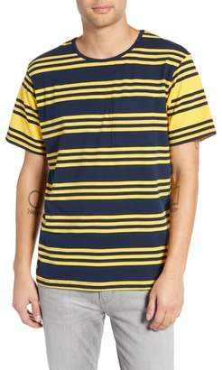 NATIVE YOUTH Contrast Stripe Pocket T-Shirt