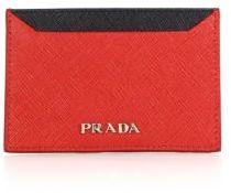 pradaPrada Saffiano Bicolor Card Case