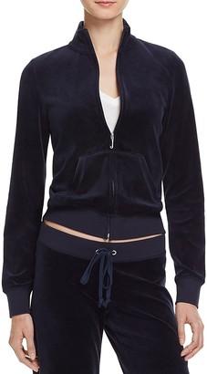 Juicy Couture Black Label Velour Track Jacket - 100% Exclusive $108 thestylecure.com